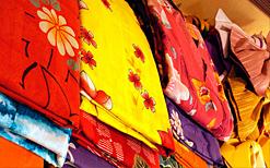 貸出用の色浴衣
